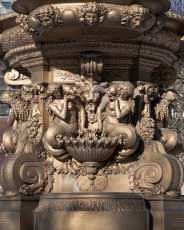 The Ross Fountain Mermaids