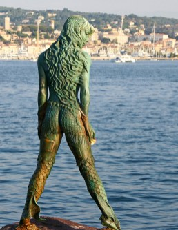 Atlante, Mermaid statue in Cannes