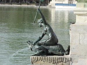 Retiro Park Lobster mermaid