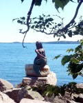 Eastport Mermaid Statue unveiled on August 1st