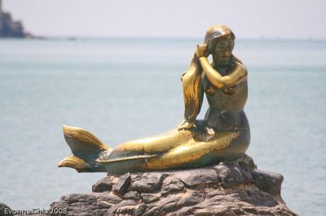 Songkhla Golden Mermaid