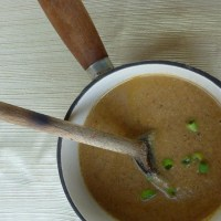 Sunday soup: cream of mushroom