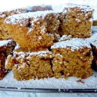 Cinnamon honey cake (egg-free)