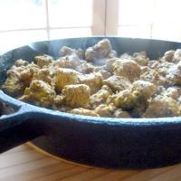 Dry chicken masala