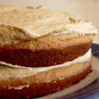 Coffee butter cake