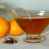 Sirope especiado de mandarina