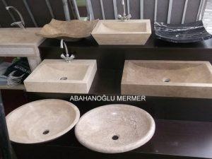 mermer lavabo çeşitleri em-047 ölçüleri : fiyatı :