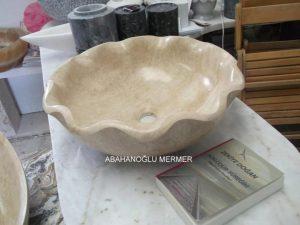 mermer çiçek modeli lavabo em-047 ölçüleri : 45x15 cm fiyatı 650 tl