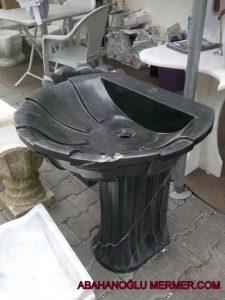 toros siyahı lavabo em-082 ölçüleri 50x55x85 cm fiyatı : 2500 tl