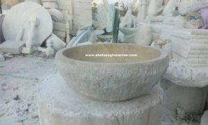 mermer evye çanak lavabo çeşitleri em-092 ölçüleri : 42x15 cm fiyatı : 400 tl