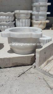 afyon beyaz düz mermer kurna ku-42 ölçüleri : 45x25 cm fiyatı : 350 tl