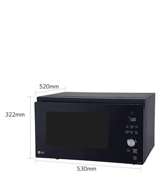 lg 32l all in one smart inverter microwave oven mjen326tl
