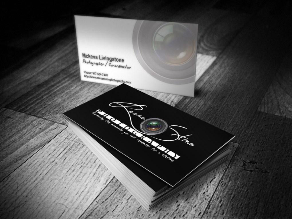 Reesestone Photography Business Card design by Merog, merogdesign.com