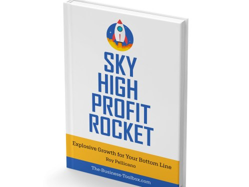 Book cover: Buy Sky High Profit Rocket: Explosive Growth for Your Bottom Line