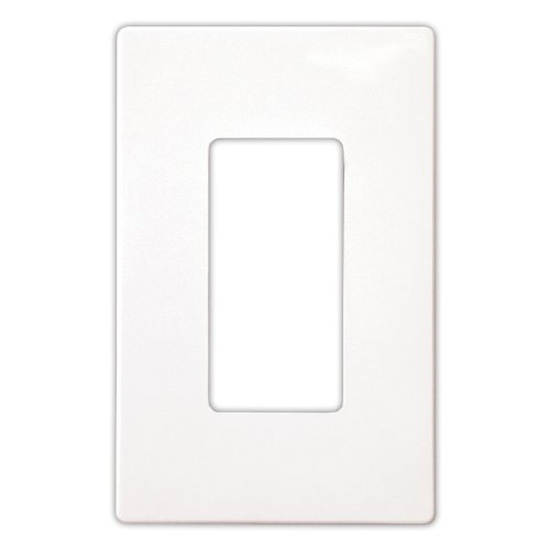 Screwless Decorator Switch Wall Plate by Enerlites SI8831