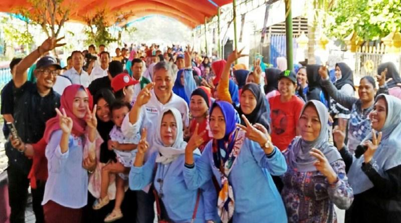 Ribuan Pendukung Iwan-Alimin Ikut Kampanye di Paleteang