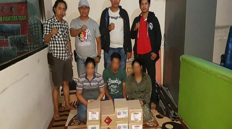 Pencuri Spesial Toko Grosir Dibekuk Resmob Pinrang