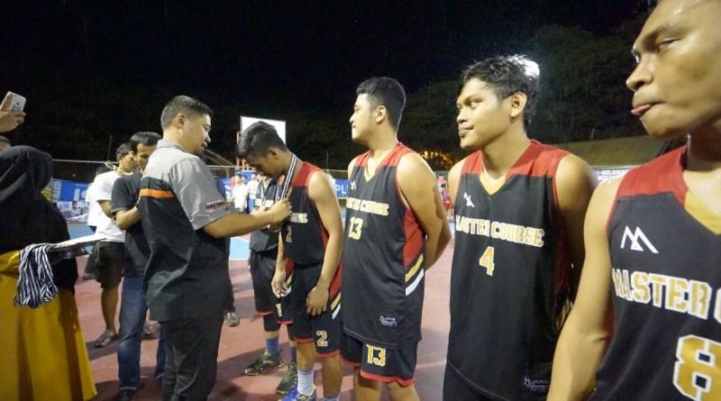 Distrik Polewali Juara Pertama Turnamen Basket Sawerigading