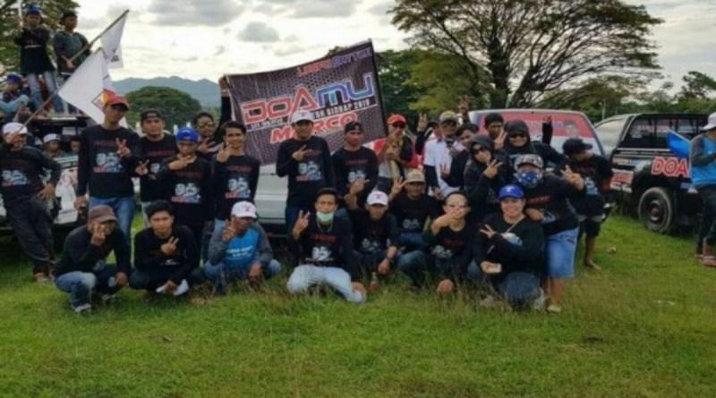 Dua Komunitas Dukung DoaMu di Watang Sidenreng