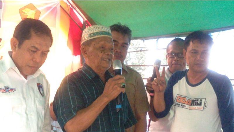 Ayah Ketua Golkar Sidrap Nyatakan Dukungaan ke DOAMU