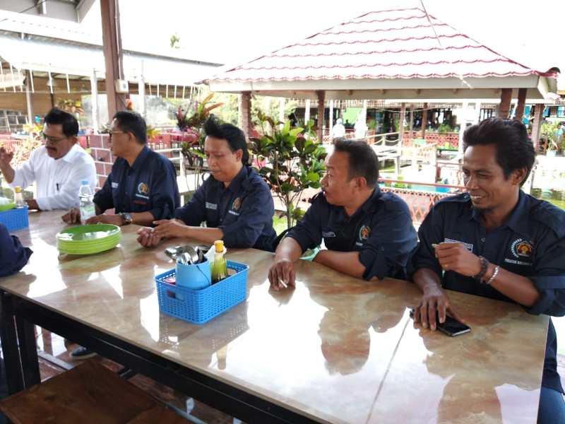 Jalin Sinergitas Polres Sidrap Bersama PWI Sidrap - Enrekang. Begini Penuturan Kapolres dan Edy Basri...