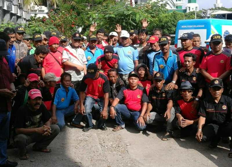 Rutinitas LKPM, Organisasi Raksasa Di Pinrang Sambangi Rumah Duka dan Pernikahan