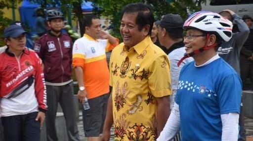 Pemda Ajak BPK dan Komunitas Sepeda, Keliling Kota Soppeng