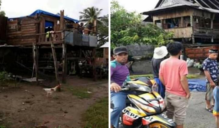 Dua Rumah Warga Di Duampanua Pinrang, Rusak Di Terjang Badai