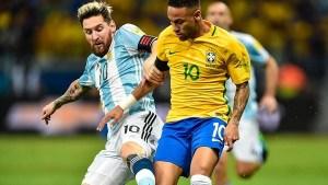Final Ideal Argentina Vs Brazil, Laga Seteru Messi - Neymar
