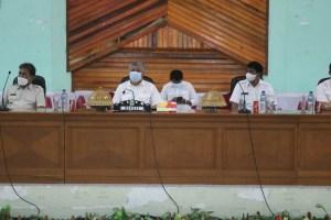 Bupati Pinrang Rakor Dengan Kontributor Media di Pinrang