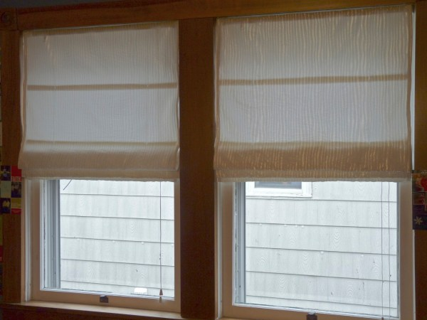 Making Roman Blinds Easy Way. Making A Faux Roman Shade ...
