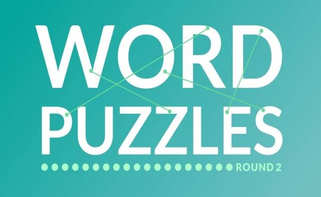 Word Puzzles Round 2 Weekly Challenge