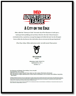 5e Adventure Review A City On The Edge Merric S Musings