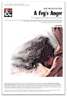D&D 5E – Page 8 – Merric's Musings