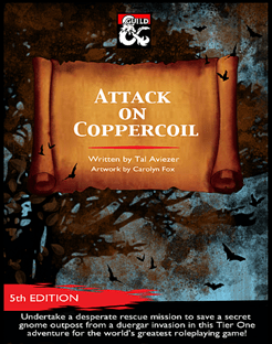 5E Adventure Review: Attack on Coppercoil – Merric's Musings