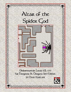 5E Adventure Review: Altar of the Spider God – Merric's Musings