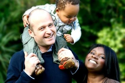 Stock Photo Interracial Family