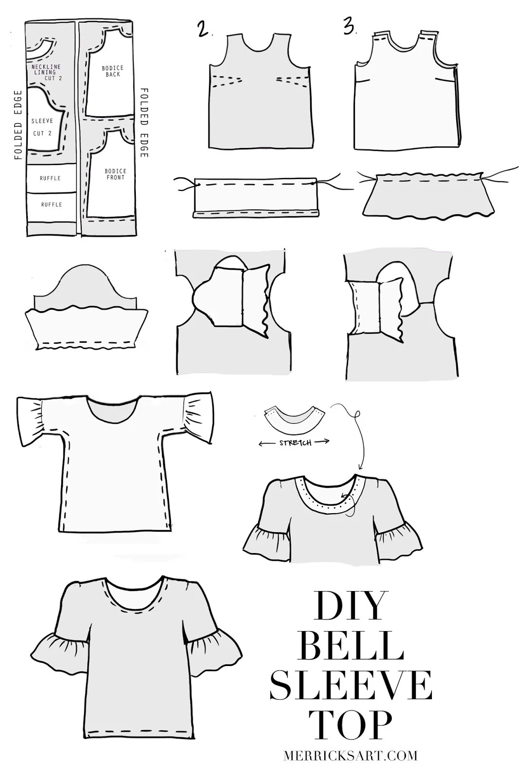 Merrick S Art Style Sewing For The Everyday Girldiy