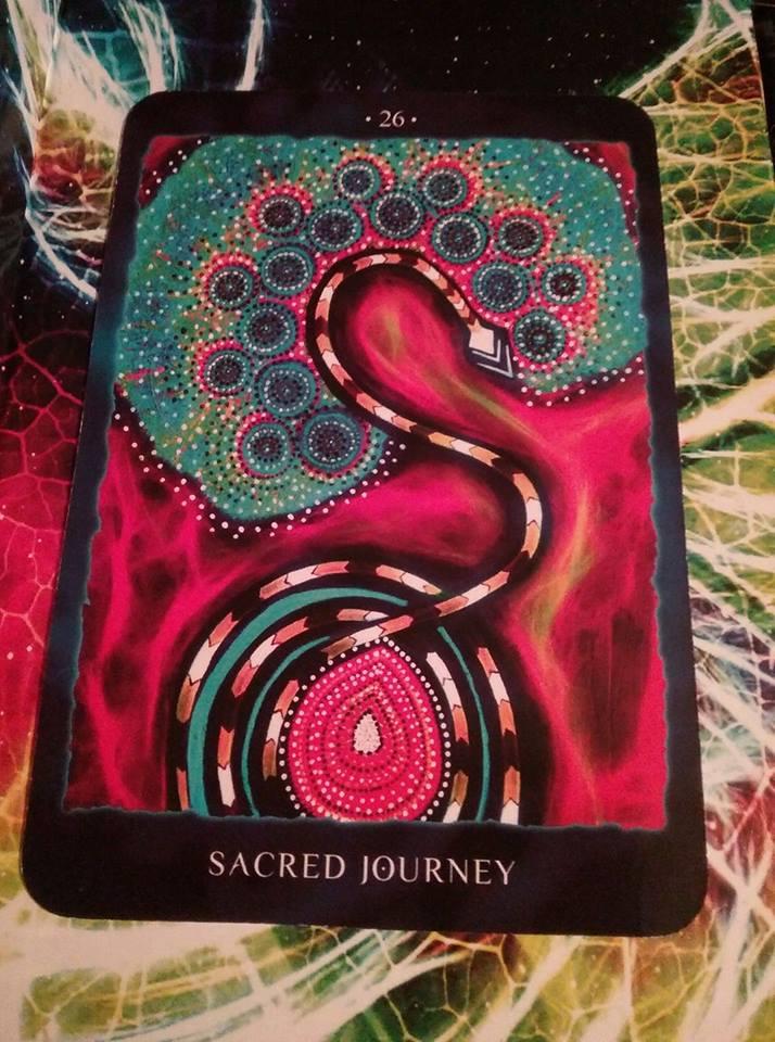 SACRED JOURNEY (COSMIC CARD READING)