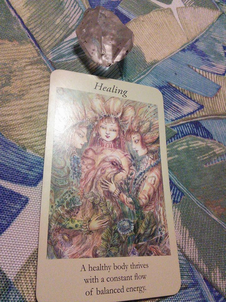 Faery guidance oracle for today's energies 1/22/18