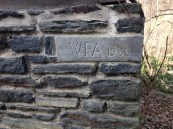 WPA Marker, Forbidden Drive