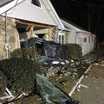 Merrimac Police Investigating After Vehicle Crashes through Parking Lot into House
