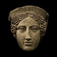 HEAD OF A MAIDEN (DEMETER OR KORE/PERSEPHONE)