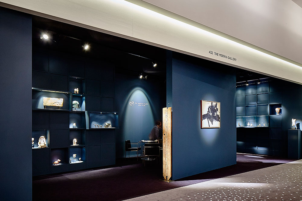 merrin gallery booth TEFAF 2015