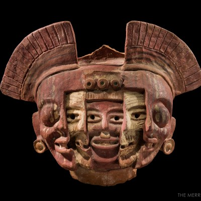 Rare Mochica Warrior Mask