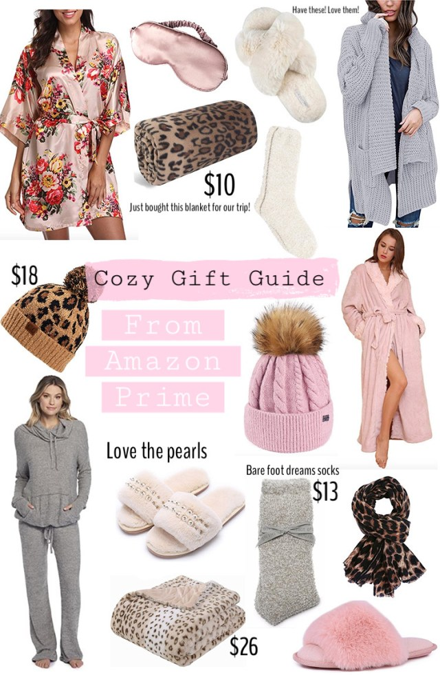 amazon cozy christmas gifts