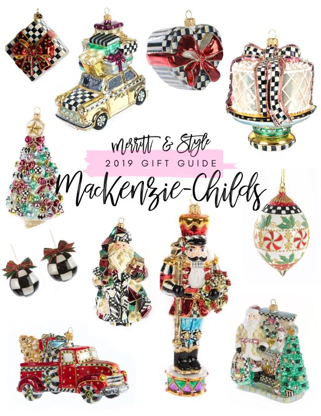 mackenzie-childs ornaments 2019