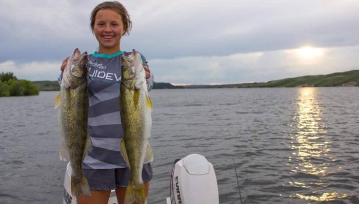 FISHING IN NEBRASKA - Walleye