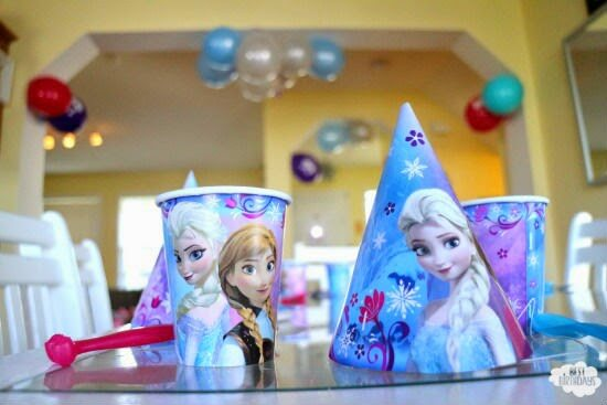 Frozen Party on a Budget