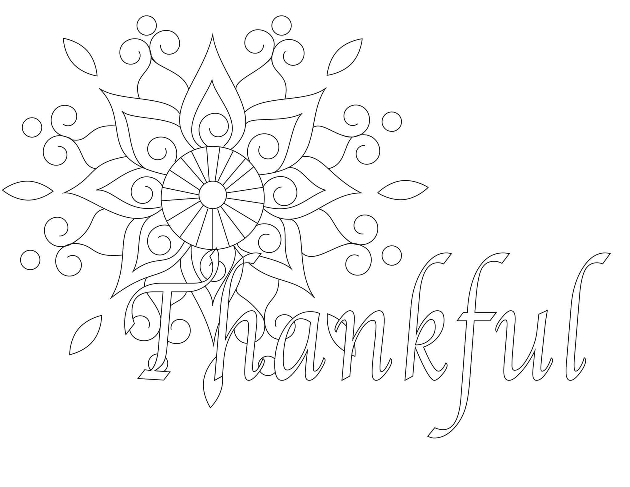 Free Printable Thanksgiving Coloring Pages